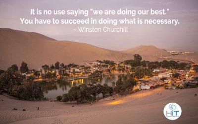 True Leadership is Based on Success!